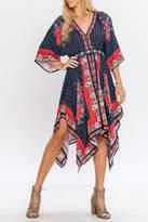 Flying Tomato Kimono Handkerchief Dress