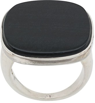Wouters & Hendrix My Favourites blue eye tiger stone ring