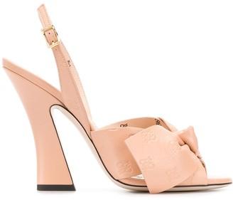 Fendi FFreedom 120mm slingback sandals