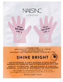 Nails Inc FACEINC by NAILSINC Shine Bright Moisturising & Anti-Ageing Glove Masks - Deeply Hydrating, Brightening & Firming 20ml
