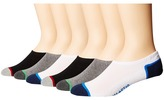 Converse Cut-for-Chucks 6-Pair Pack Men's No Show Socks Shoes