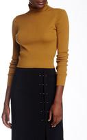 A.L.C. Milo Cropped Wool Blend Turtleneck Sweater