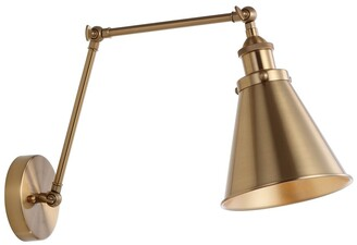 Jonathan Y Designs Rover 7In Adjustable Arm Metal Led Wall Sconce