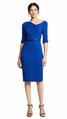 Black Halo Women's 3/4 Sleeve Jackie O Dress