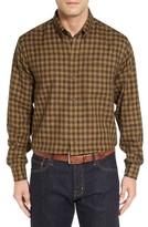 Cutter & Buck Men's 'Crown' Regular Fit Plaid Sport Shirt