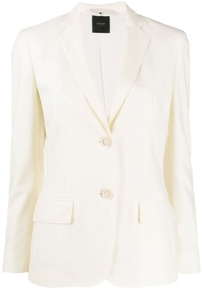 Agnona Flap-Pocket Fitted Jacket