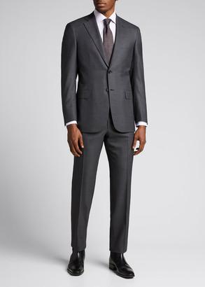 Brioni Men's Plaid Super 150s Wool Suit
