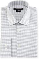John Varvatos Slim-Fit Plaid Dress Shirt, Gray