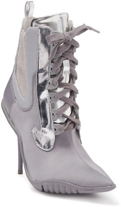 Jeffrey Campbell Big Bang Ankle Tie Bootie