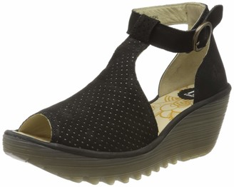 Fly London Women's YALL962FLY T-Bar Sandals