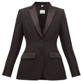 Burberry Wool Tuxedo Jacket - Womens - Black