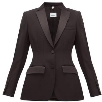 Burberry Wool Tuxedo Jacket - Black