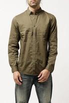 Topman L/S Poplin Shirt