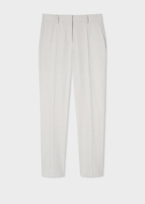 Paul Smith Women's Slim-Fit Polka Dot Stretch-Cotton Trousers