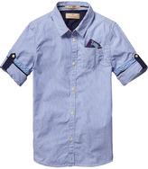 Scotch & Soda Blue Shirt