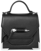 Mackage Rubie Structured Leather Shoulder Bag In Black