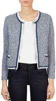 Gerard Darel Jack Tweed Knit Jacket