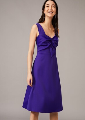 Phase Eight Jadine Bow Fit & Flare Dress