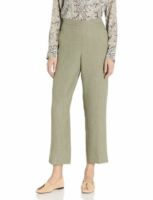 Alfred Dunner Women's Short Pant Clean Front Back Elastic Side Pockets