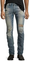 Diesel Thavar 0856C Destroyed Denim Jeans