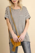 Umgee USA Basic Stripe Tee