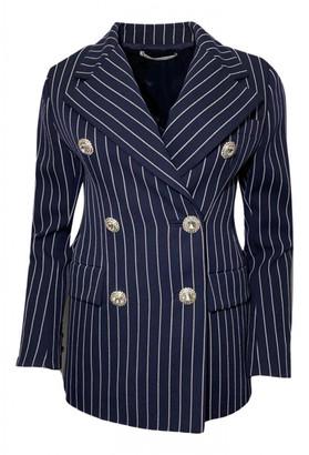 Alessandra Rich Navy Wool Jackets