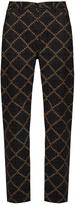 Etoile Isabel Marant Janelle geometric-print trousers
