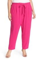 Melissa McCarthy Tie Front Pants (Plus Size)
