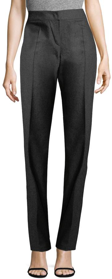 Armani Collezioni Women's Straight-Leg Wool Pants