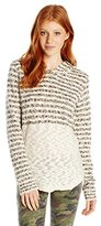 O'Neill Junior's Margery Hooded Pullover Striped Sweater