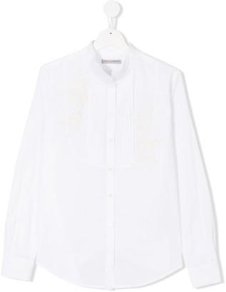 Ermanno Scervino Collarless Shirt