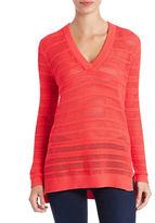 MICHAEL Michael Kors Knit V-Neck Sweater