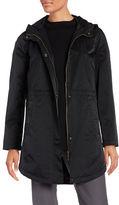 Eileen Fisher Petite Long Sleeve Hooded Jacket
