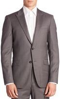 Theory Malcolm Slim-Fit Pinstriped Suit Jacket