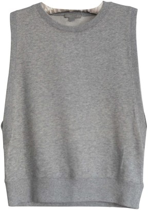 Cos Grey Cotton Top for Women
