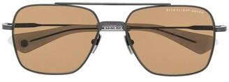 Dita Eyewear Squared Aviator Sunglasses