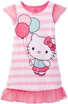 Komar Hello Kitty Ruffle Gown (Toddler Girls)