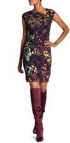 Desigual Sleeveless Neon Design Sheath Design Dress