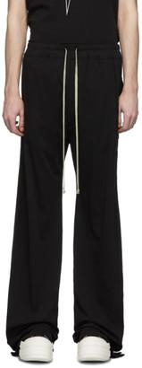 Rick Owens Black Pusher Lounge Pants