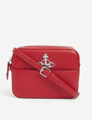 Vivienne Westwood Johanna vegan-leather cross-body bag