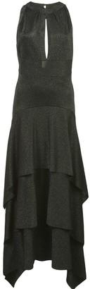 Proenza Schouler Sleeveless Asymmetric Maxi Dress