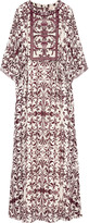 Tory Burch Printed silk-georgette maxi dress
