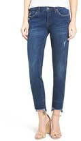 Blank NYC Women's Blanknyc Staggered Hem Straight Leg Jeans