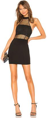superdown Arin Mesh Mini Dress