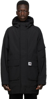 Carhartt Work In Progress Black Bode Parka
