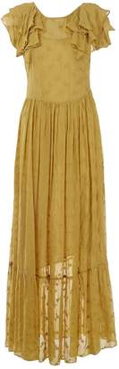N. Dôen Doen \N Yellow Viscose Dresses