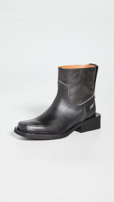 Ganni Low MC Boots