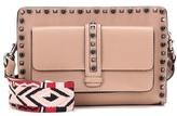 Valentino Rolling Rockstud Leather Crossbody Bag
