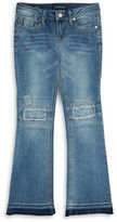 Vigoss Girls 7-16 Patchwork Jeans