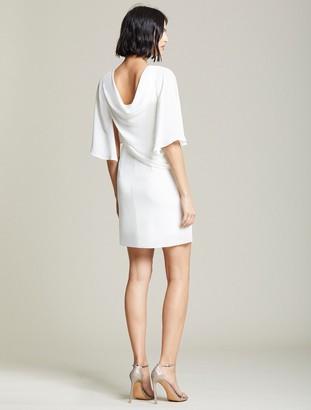 Halston Draped Skirt Dress